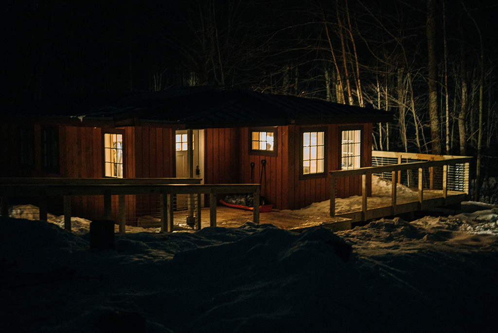 Vermont backcountry hut system