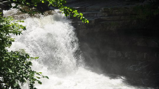 Summer Perfection at Bristol Falls Swimming Hole