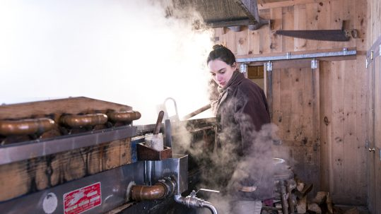 Happy Vermonters: Ana Fernandez Taps Into the Pure Joy of Sugaring