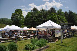 outdoor Vermont farmers markets