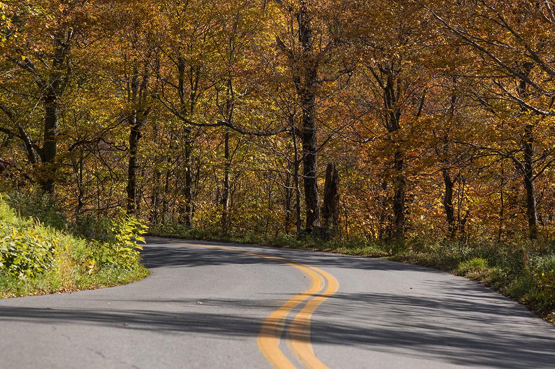 Vermont scenic mountain drives